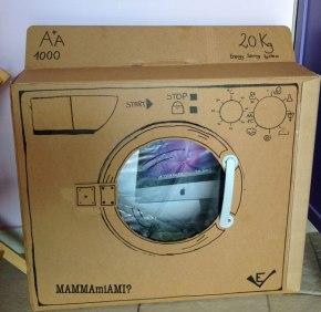 Costruire una lavatrice con il cartone(DIY)